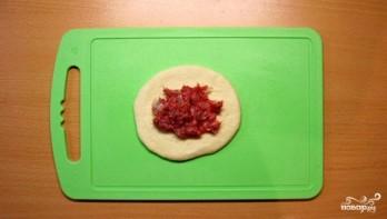 Пирожки жареные с мясом - фото шаг 6