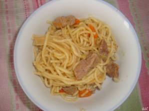 Спагетти в мультиварке - фото шаг 5