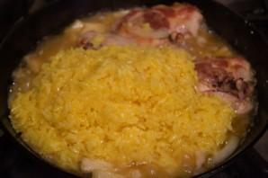 Рис с курицей и ананасами - фото шаг 8