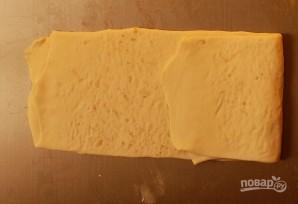 Слойки с сыром и маком - фото шаг 7