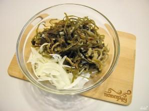 Салат из мяса мидий - фото шаг 2