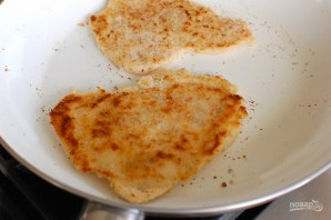 Куриные грудки с сыром в духовке - фото шаг 7