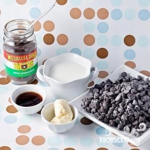 Шоколадное печенье с кофейной начинкой - фото шаг 5