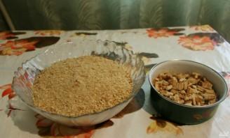 Кондитерская колбаска со сгущенкой - фото шаг 1