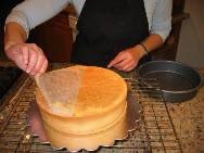 Бисквит, основа - фото шаг 8