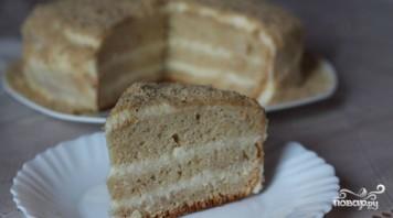 Торт на кефире в мультиварке - фото шаг 6