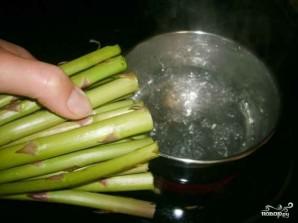 Спаржа с рисом - фото шаг 3