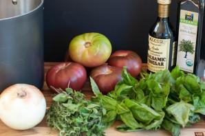 Томатный суп-пюре итальянский - фото шаг 1