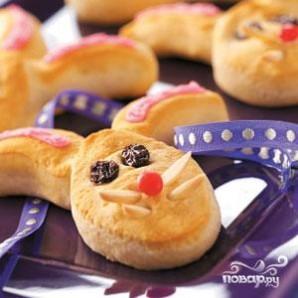 Печенье Пасхальный заяц - фото шаг 3