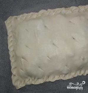 Картофельный пирог из слоеного теста - фото шаг 4