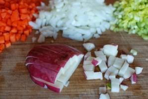 Суп с овощами и ячменем - фото шаг 3