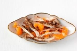 Салат с курицей и мандаринами - фото шаг 13