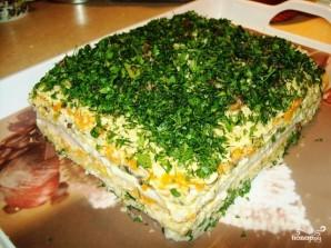 Бутербродный торт с сельдью - фото шаг 3