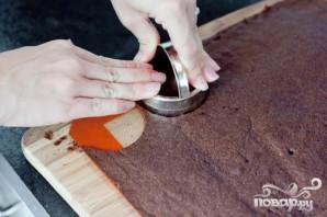 Шоколадные сэндвичи с начинкой из мороженого - фото шаг 3