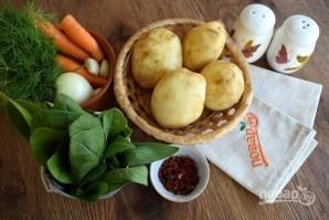 Суп из щавеля на курином бульоне - фото шаг 1