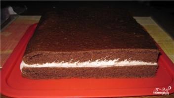 Торт на кипятке - фото шаг 13