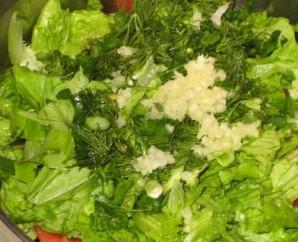 Салат со смородиной - фото шаг 2
