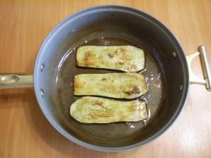 Жареные баклажаны с начинкой - фото шаг 5
