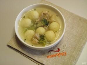 Суп с картофельными шариками - фото шаг 8