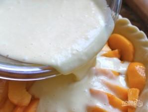 Пирог с персиками под сметаной - фото шаг 5