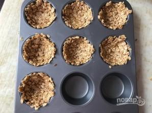 Гранола-корзинки с греческим йогуртом - фото шаг 4