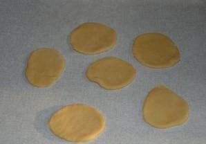 """Печенье """"Конвертики с творогом"""" - фото шаг 4"""