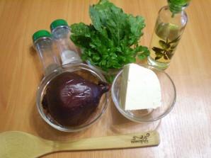 Салат из печеной свеклы с брынзой - фото шаг 1