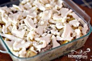 Колбаса с грибами и тортеллини - фото шаг 7