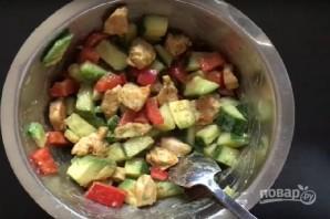 Салат из курицы и авокадо - фото шаг 6