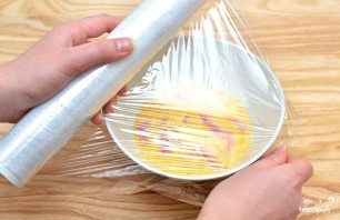 Омлет без молока в микроволновке - фото шаг 4