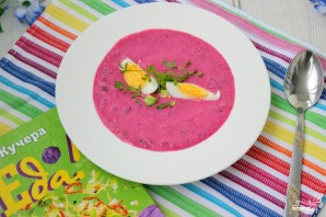 Холодный суп из свеклы - фото шаг 6