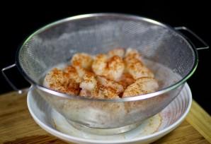 Креветки под соусом - фото шаг 2