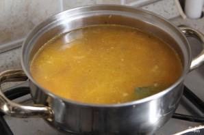 Суп с лисичками - фото шаг 5