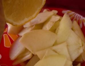 Легкий салат с зеленью - фото шаг 3
