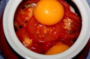 Грибы в духовке в горшочке - фото шаг 5