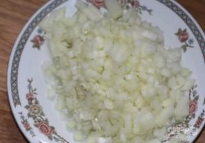 Салат с фасолью, яйцами и сухариками - фото шаг 3