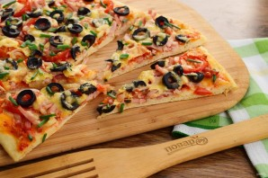 """Тесто для пиццы """"Итальянская классика"""" - фото шаг 6"""