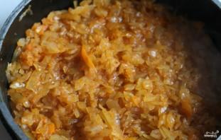Солянка из квашеной капусты с мясом - фото шаг 8