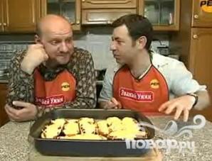 Мечта вегетарианца, фаршированные баклажаны и кабачки - фото шаг 1