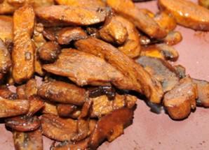 Лапша с курицей и грибами   - фото шаг 4