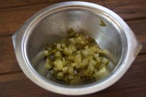 Салат обалденный с копченой курицей - фото шаг 1