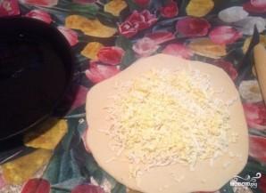 Хачапури с сыром простой - фото шаг 3