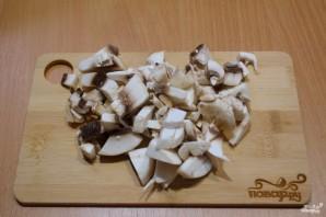 Блинный пирог с грибами - фото шаг 5