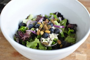 Легкий салат со сладким соусом - фото шаг 12