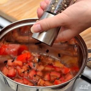 Паста с красным соусом - фото шаг 6