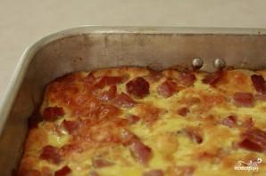 Картофель с ветчиной и сыром в духовке - фото шаг 3