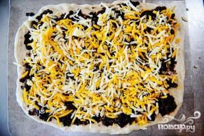 Пицца с кукурузными лепешками, фасолью и сыром - фото шаг 4