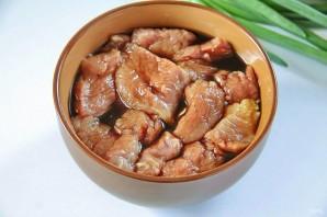 Жаркое из свинины и зеленой фасоли - фото шаг 2