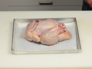 Курица, фаршированная крупой - фото шаг 5
