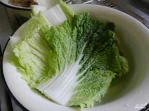 Голубцы из пекинской капусты - фото шаг 2